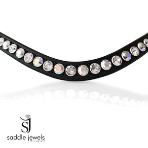 Crystal AB and Crystal browband - XL